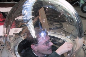Jari Inside A Spheric Dome